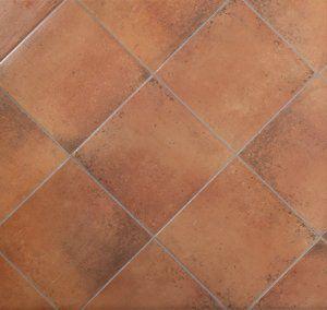I Bastioni (Cotto) glazed porcelain tiles by Abitare la
