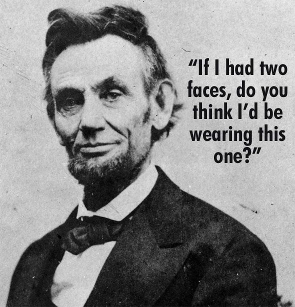Image result for abraham lincoln insults