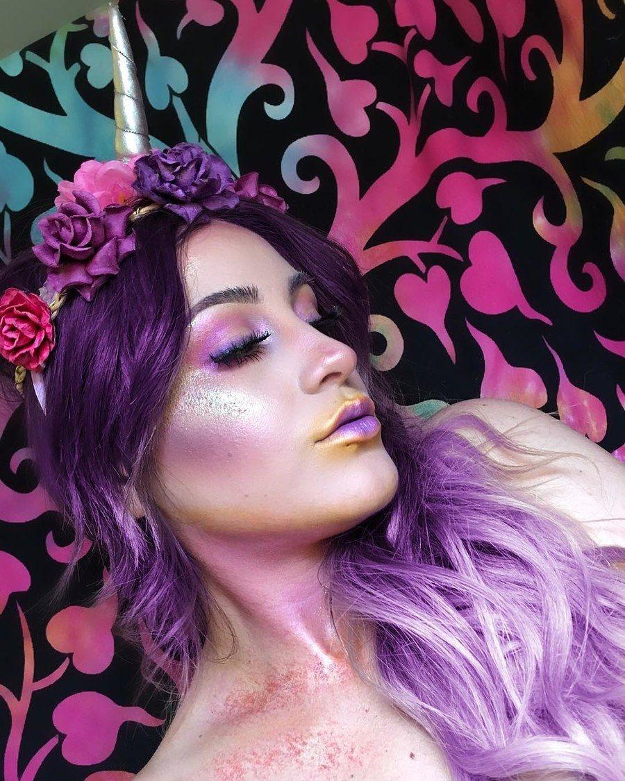 3d65cdaf78df 41 Unicorn Halloween Makeup Ideas Perfect for 2018 | Makeup ...