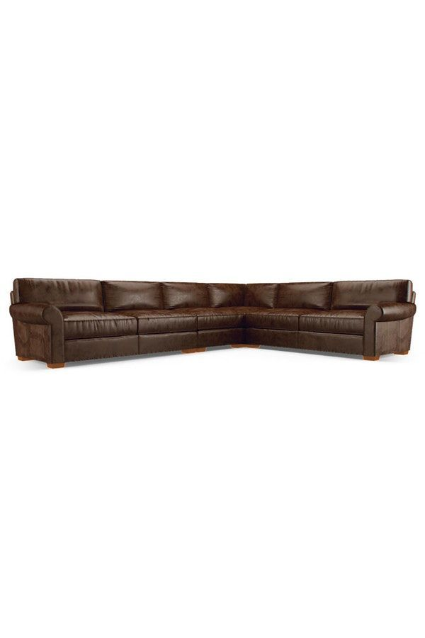 Leo Leather L-Sectional