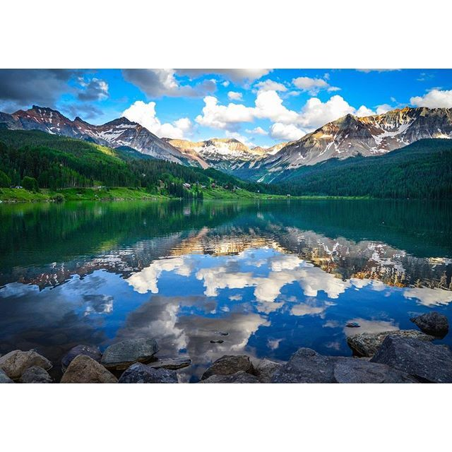 Trout Lake outside of Telluride Colorado | Summer in ...