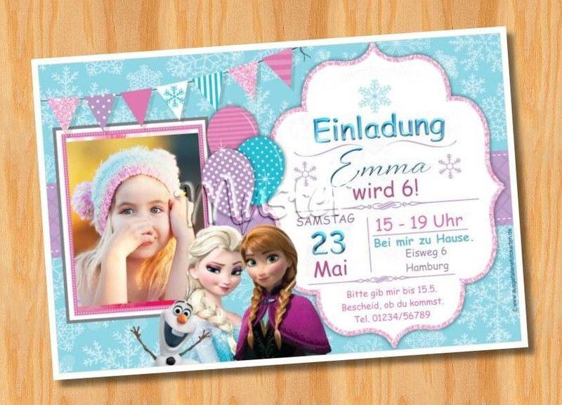 Einladung Einladungen Geburtstag Kinder