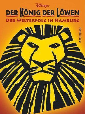 Musical Der Konig Der Lowen Tickets Kat 1 Di Mi Do Valentinstag Special 10 Der Konig Der Lowen Broadway Poster Der Konig Der Lowen Musical