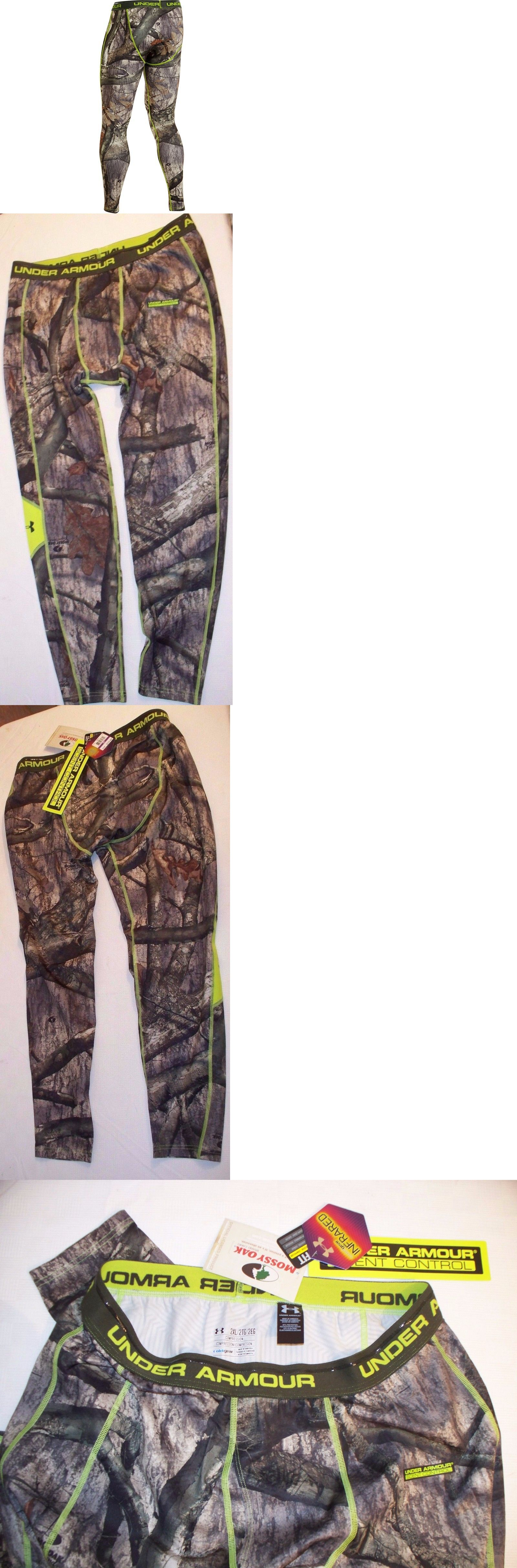 8c3a81d1098a0 Base Layers 177867: Under Armour Coldgear® Infrared Scent Control Evo  Hunting Leggins Men S Xxl -> BUY IT NOW ONLY: $34.99 on #eBay #layers #under  #armour ...