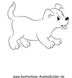 Ausmalbild Kleiner Welpe Ausmalbilder Hunde Malvorlage Hund Barbie Zum Ausmalen