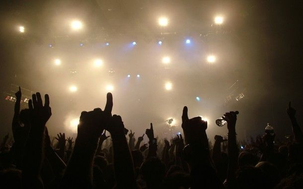 Free Party Rock Hd Wallpapers Concert Crowd Music