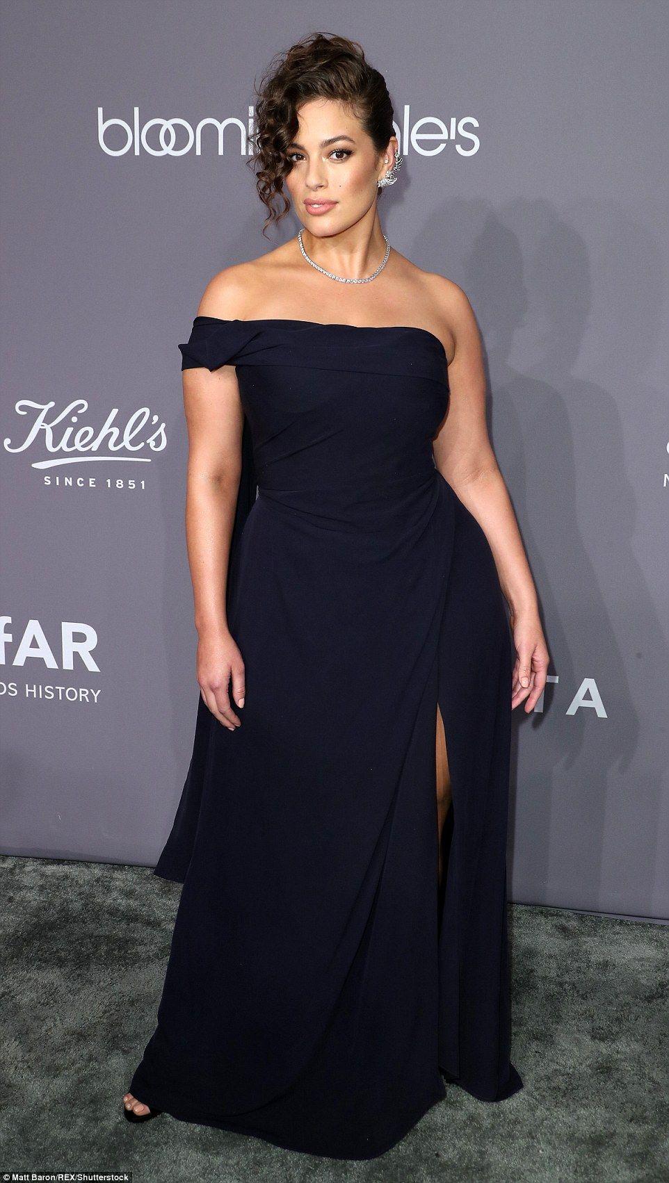 Ashley Graham, Heidi Klum, Olivia Culpo,Halsey at NYC amfAR gala ...