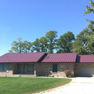 Best Burgundy Home Coated Metals Group Red Roof Burgundy 400 x 300