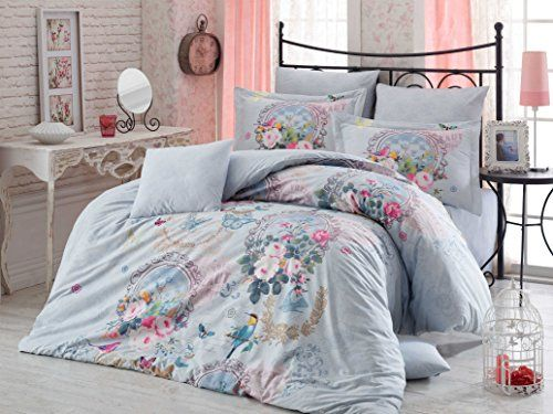 Deconation 100 Cotton Comforter Set Full Size Floral Blu Https