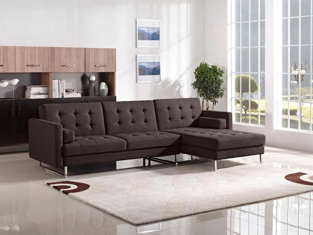The Diamond Sofa Opus Convertible Tufted Rf Chaise Sectional   Grey At  Local Furniture Outlet Would Be A Great Item To Purchase In Austin, Texas.