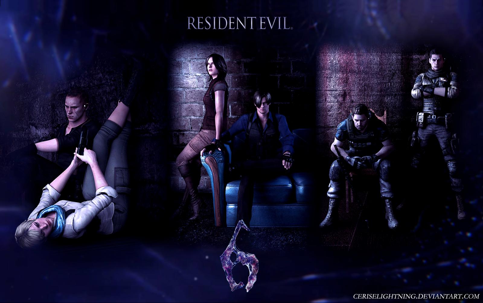 Resident Evil 6 Wallpaper By Ceriselightning On DeviantArt