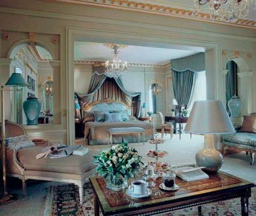 So Elegant Love A Sitting Area In A Master Bedroom By: Master Bedroom Decor Romantic, Luxurious