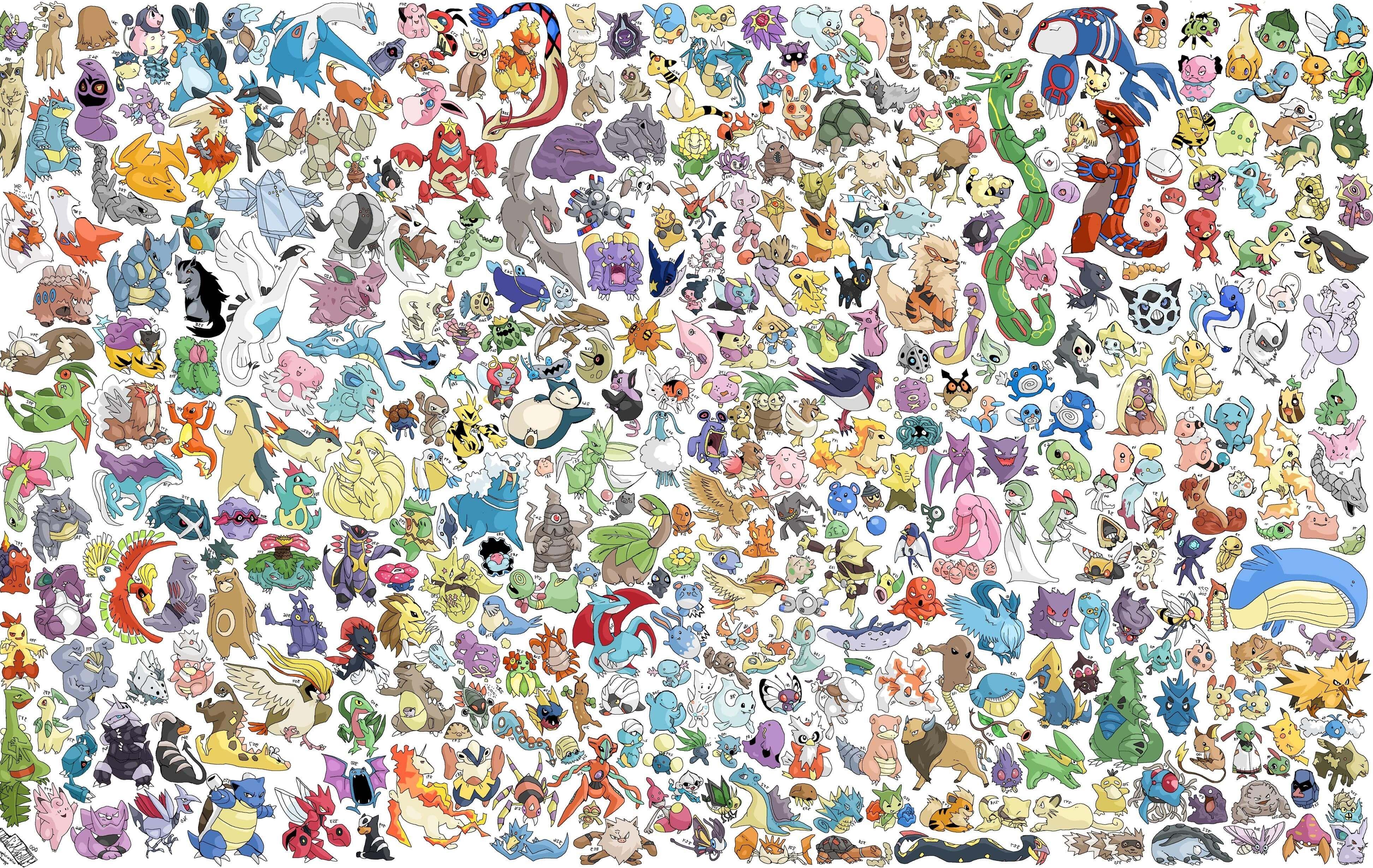hd all pokemon wallpaper Pokemon poster, Cool pokemon