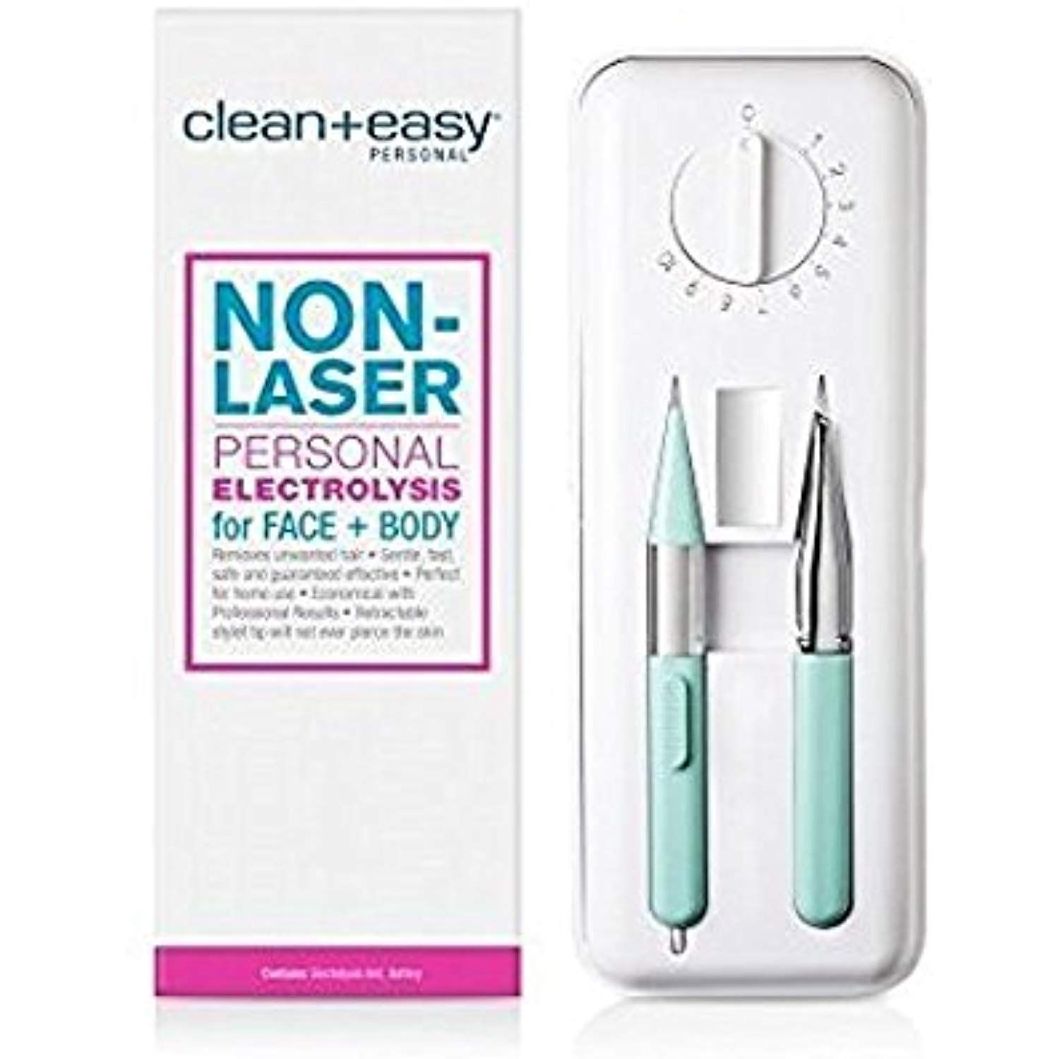 Clean Easy Personal Electrolysis for Face and Body * Want