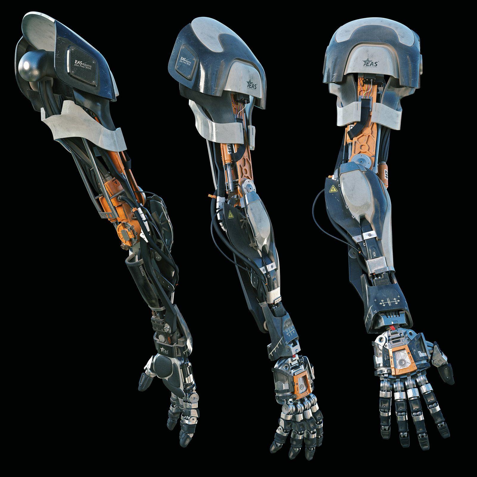 Robotic Arm Alexey Vasilyev On Artstation At S