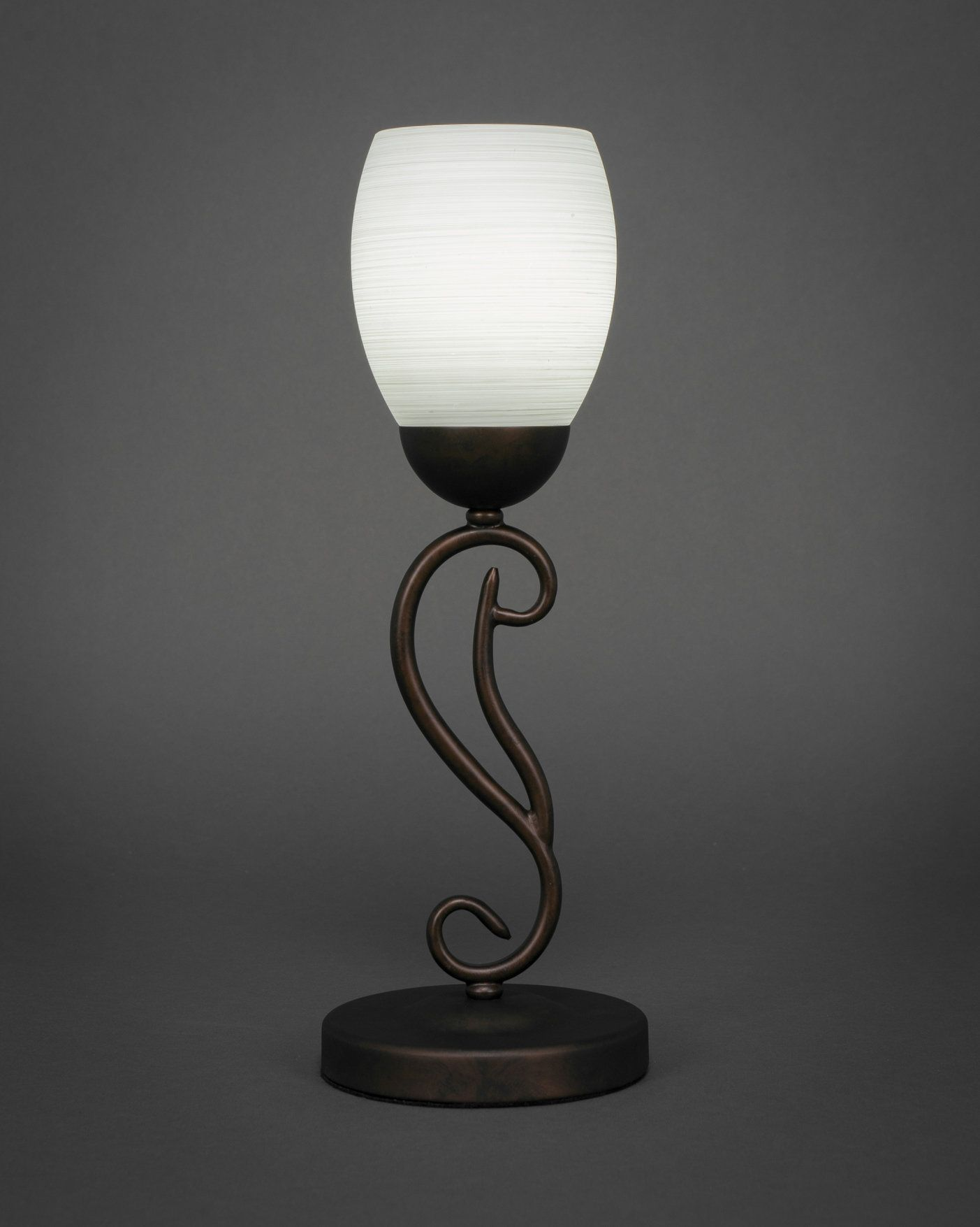 """Olde Iron 17.25"""" Torchiere Lamp"""