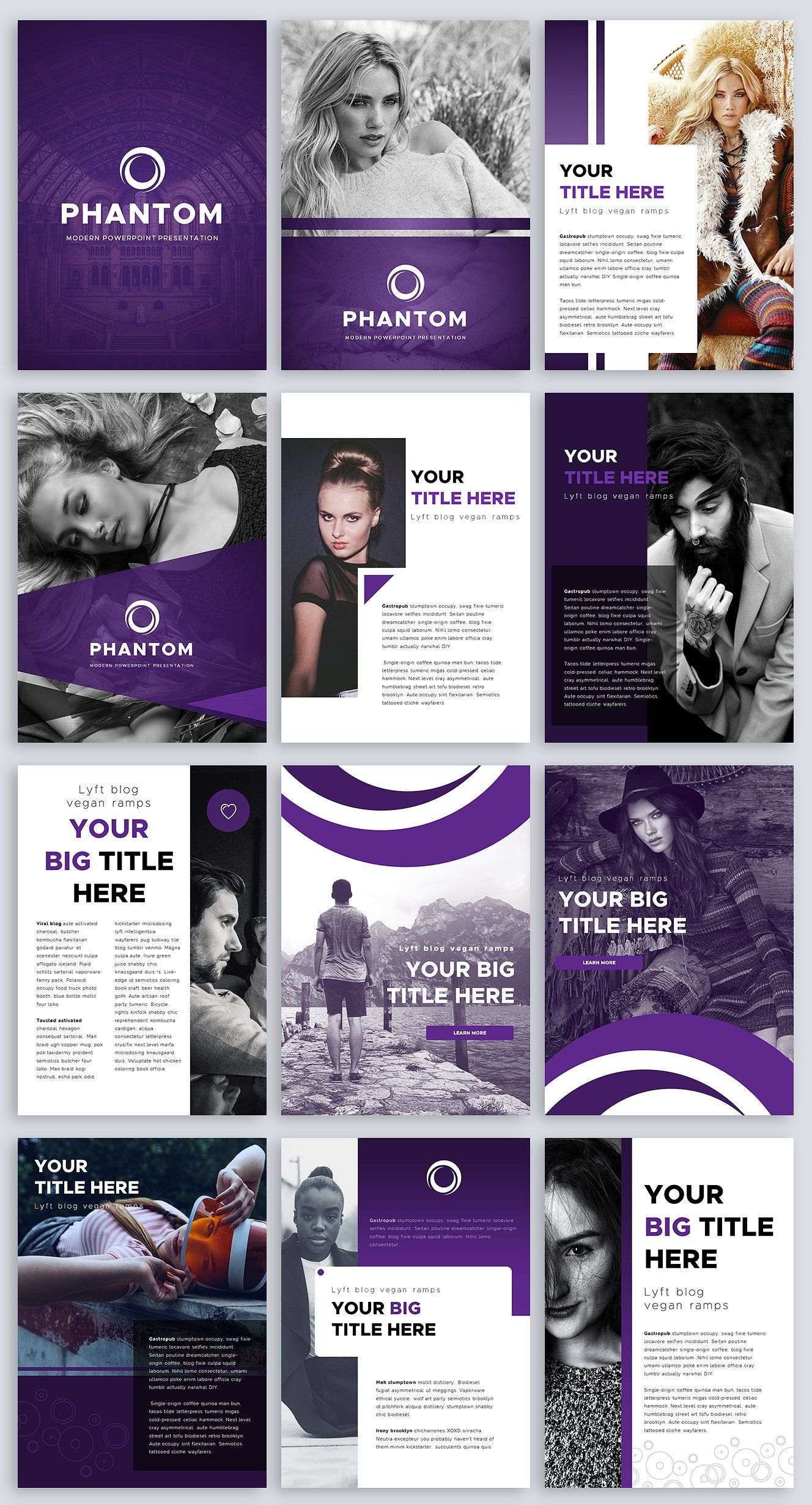 A4 Phantom Powerpoint Template A4 Template And Power Point Templates