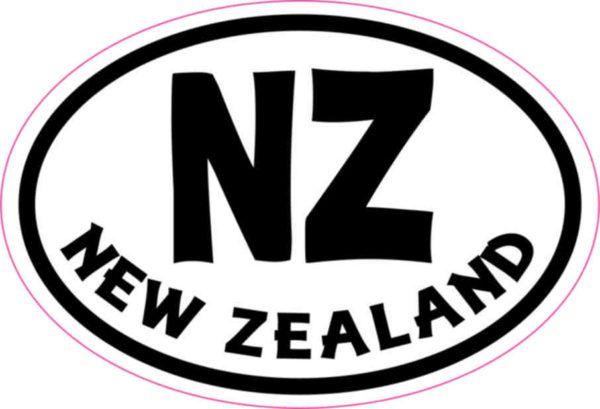 Oval NZ New Zealand Sticker Hobbies Pinterest - Vinyl decal car nz
