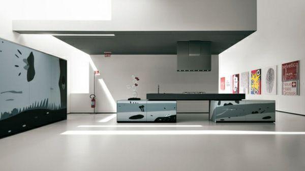Kreatives Küchen Design von Valcucine | Cuisines | Pinterest ...
