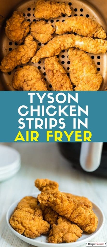 Tyson Chicken Strips. How to cook your favourite frozen