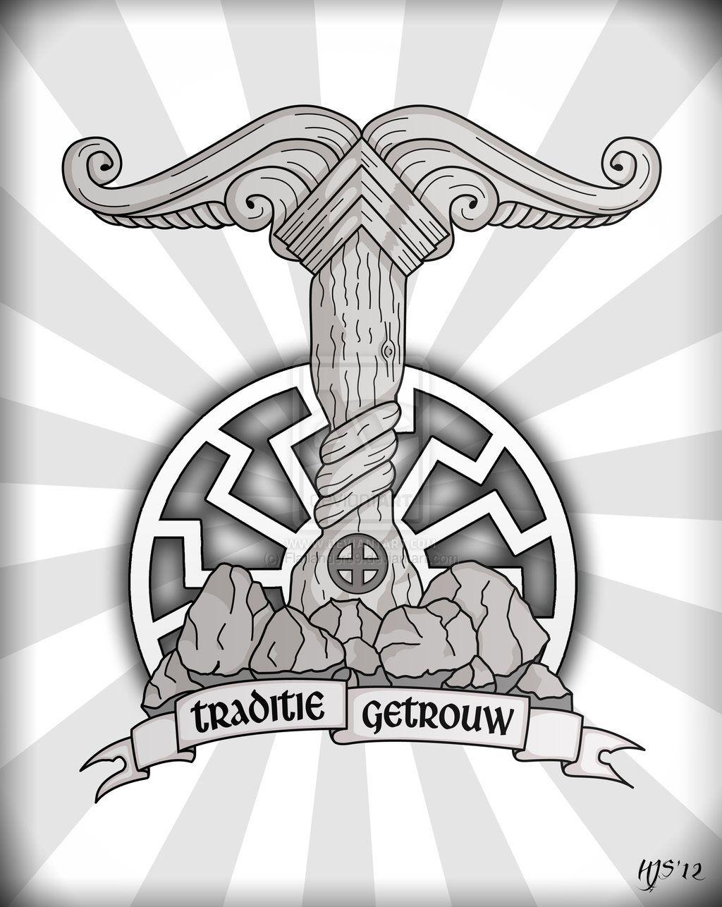 tattoo irminsul viking tattoos pinterest germanen. Black Bedroom Furniture Sets. Home Design Ideas