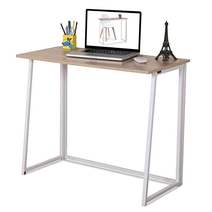 Amazon Com 4nm Folding Table Small Foldable Computer Desk Home