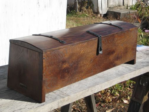 Viking Tool Chest Medieval Furniture Wooden Chest Wooden