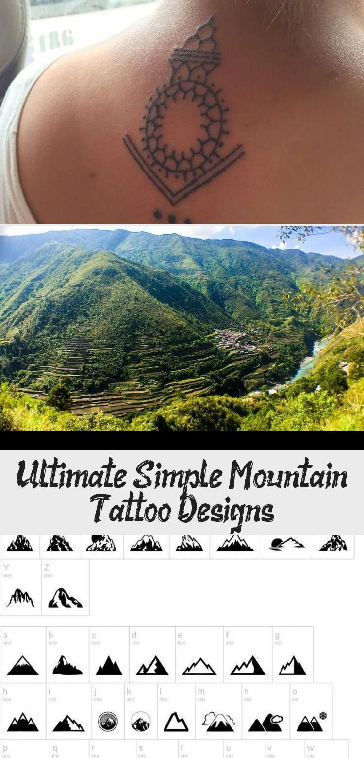 Photo of Ultimate Simple Mountain Tattoo Designs Fresh the Ultimate Guide to Mountain Tat…