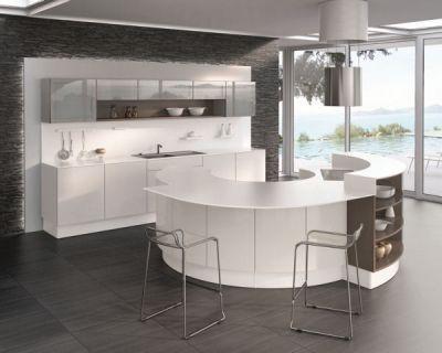 îlot de cuisine equinoxe de perene Home ○○ kitchen Pinterest - cuisine avec ilot central et table