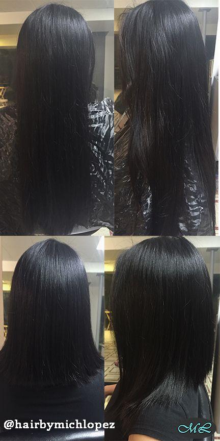 #hairbymichloez #longbob #torontohairstylist