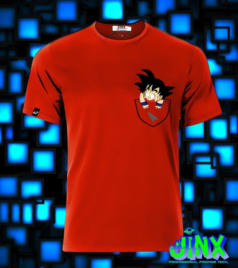5d7537a57  179.00 Playera o Camiseta Goku Bolsillo Dragon Ball - Jinx ...