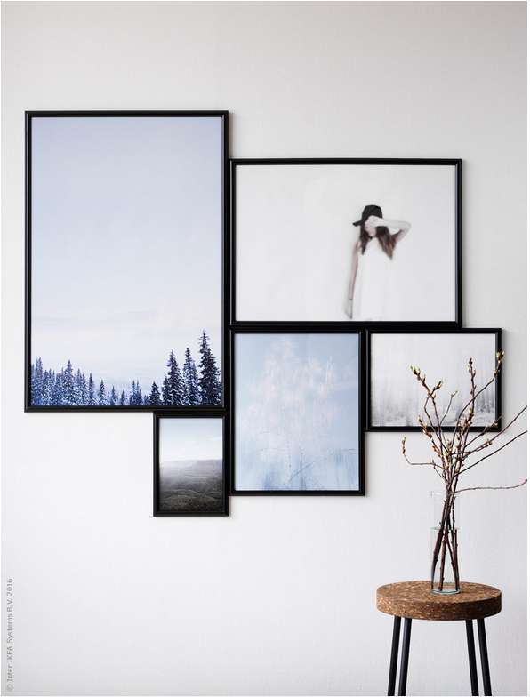 Hang Art Like an IKEA Stylist | Re/Max Solutions | Pinterest ...