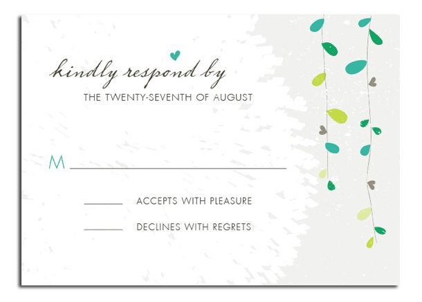Rsvp To Wedding Invitation Wording: Ideas About Wedding Invitation Wording