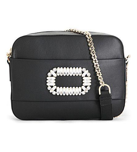 d5610123a1 ROGER VIVIER Photocall Leather Shoulder Bag.  rogervivier  bags  shoulder  bags  leather