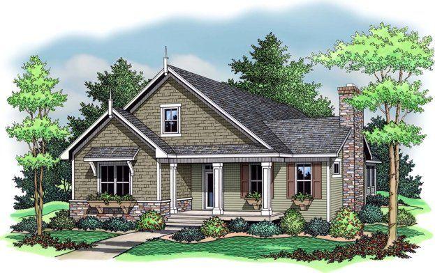 Bungalow House Plan Planos De Casas Casa Estilo Casas Americanas