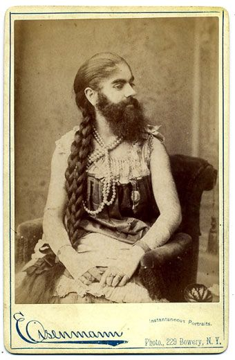Bearded Lady-Man
