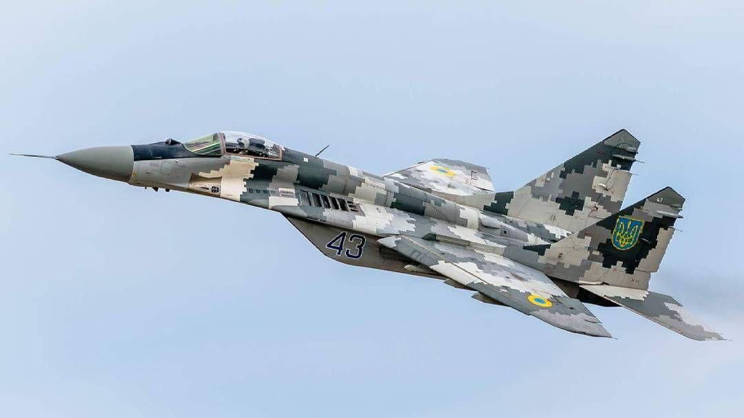 Photo by Anton Starishko #mig29 #fulcrum #ukraine #airforce ...