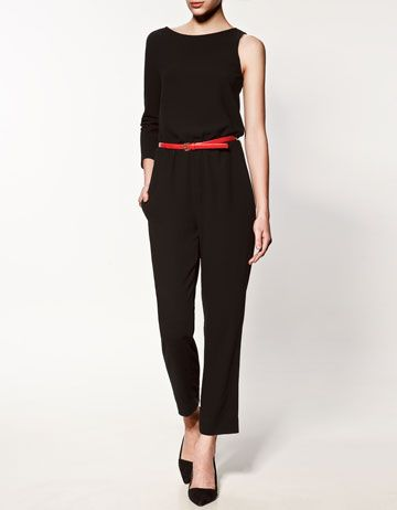 asymmetric jump suit. This is the kind of thing that looks good on me only in my mind.