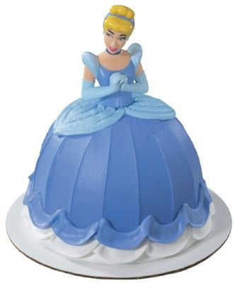Phenomenal Cinderella Birthday Cake Topper Pink Frosting Party Shop Funny Birthday Cards Online Overcheapnameinfo