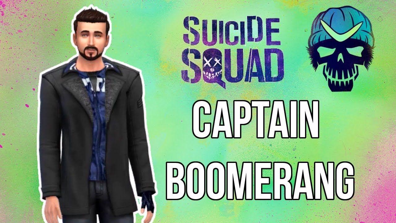 Captain Boomerang vom Suicide Squad | Sim erstellen | Die Sims 4