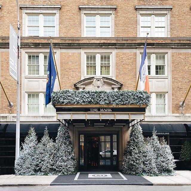 Christmas trees abound at themarkhotelny uppereastside christmasinnewyork