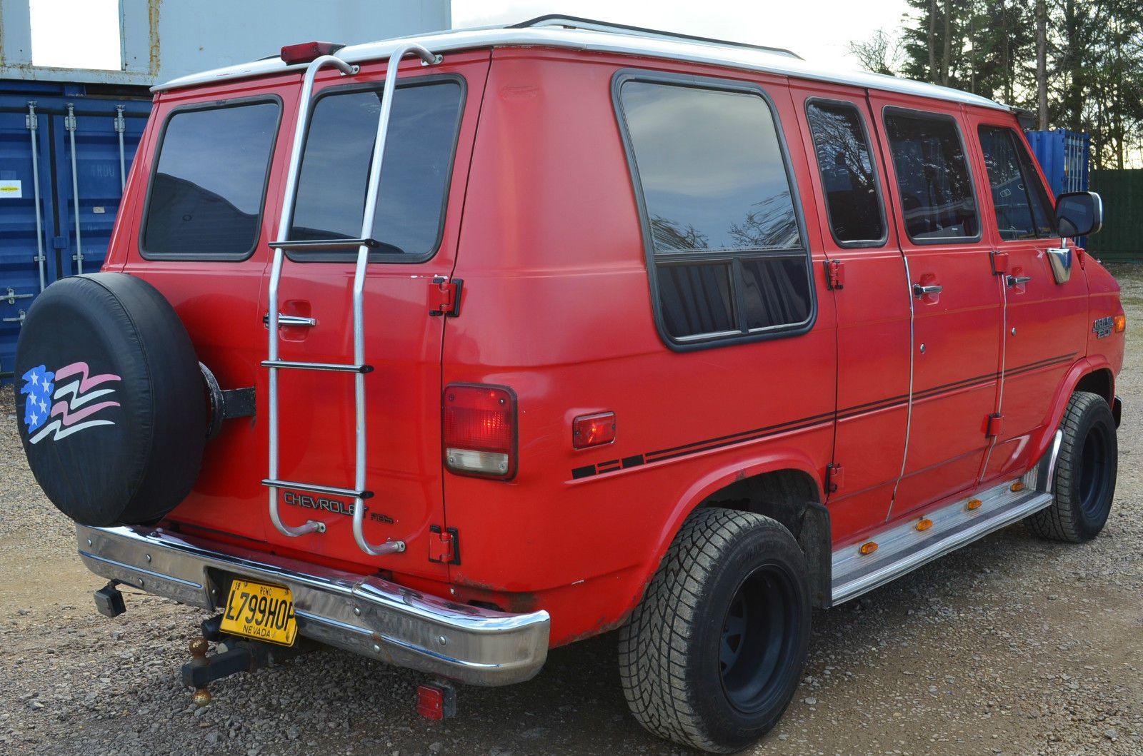 Chevrolet Chevy G20 Swb Rare In Uk Day Van Just Look Lovely Van
