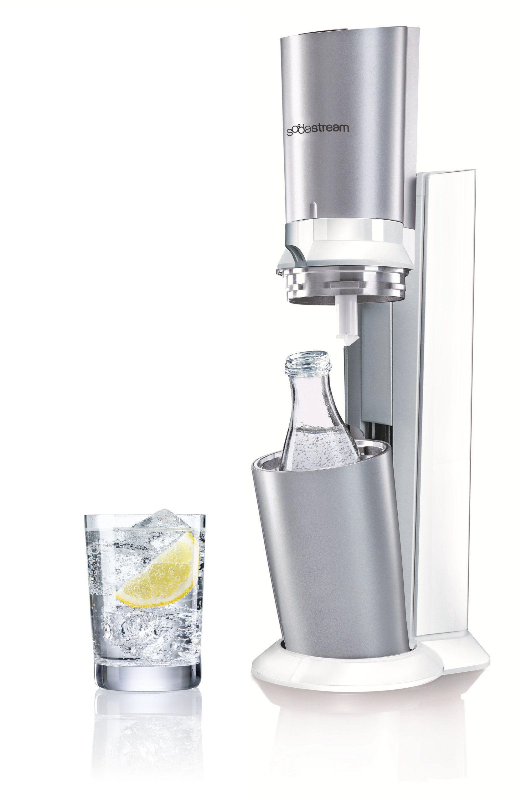 sodastream wassersprudler crystal mit 1 x co2 zylinder. Black Bedroom Furniture Sets. Home Design Ideas