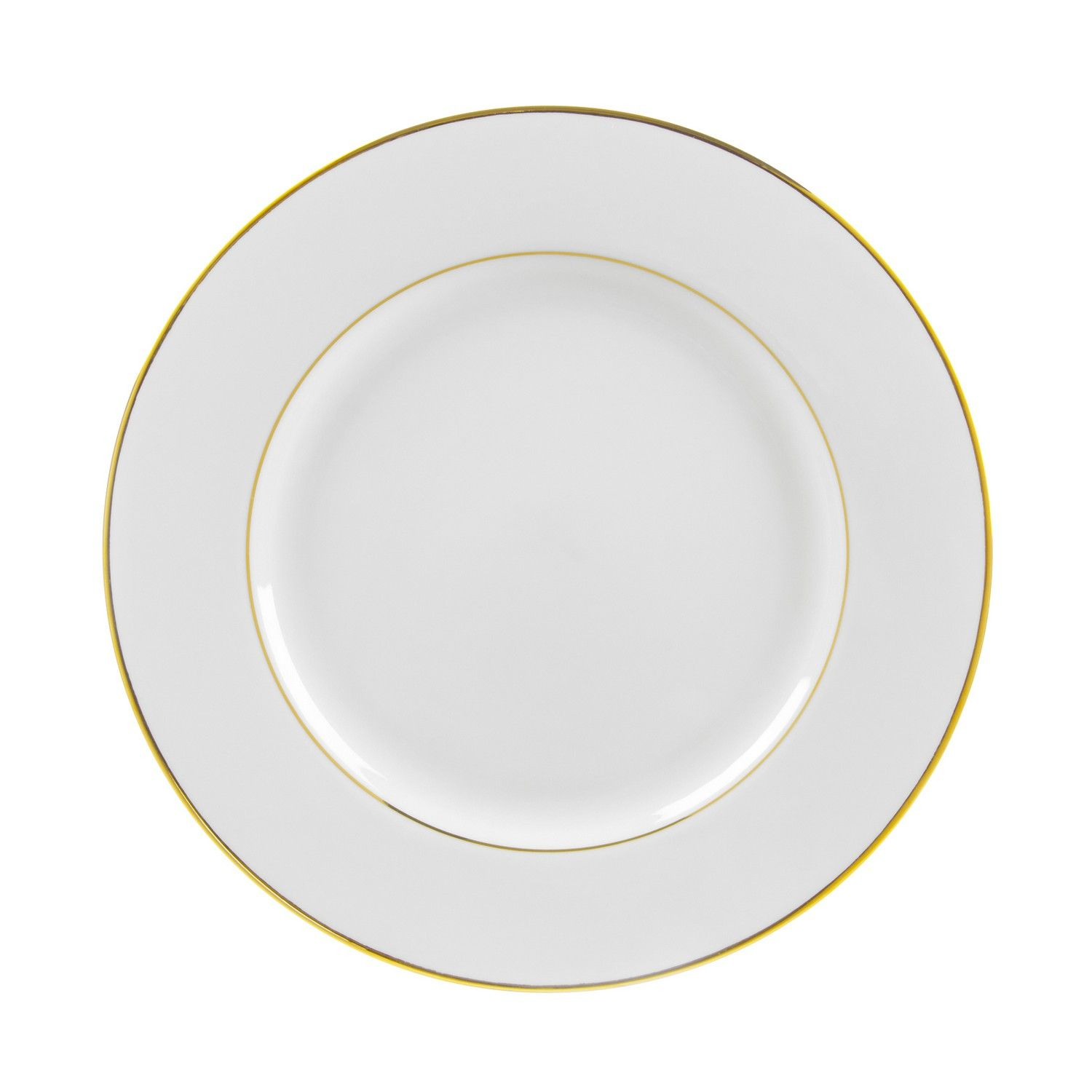 13 4l X 1h Gold Double Line Dinner Plate Case Of 24 Dinner Plate Sets Dinner Plates 10 Strawberry Street