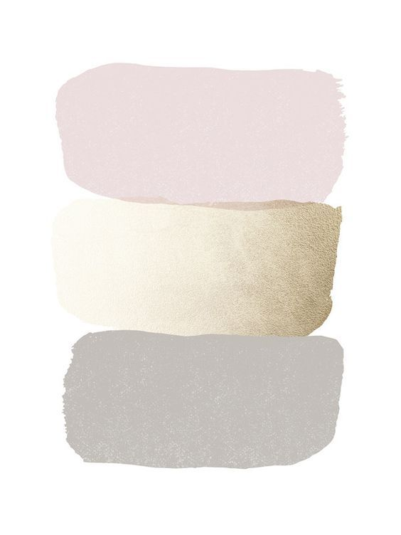 Blush Gold Gray Color Palette Inspiration