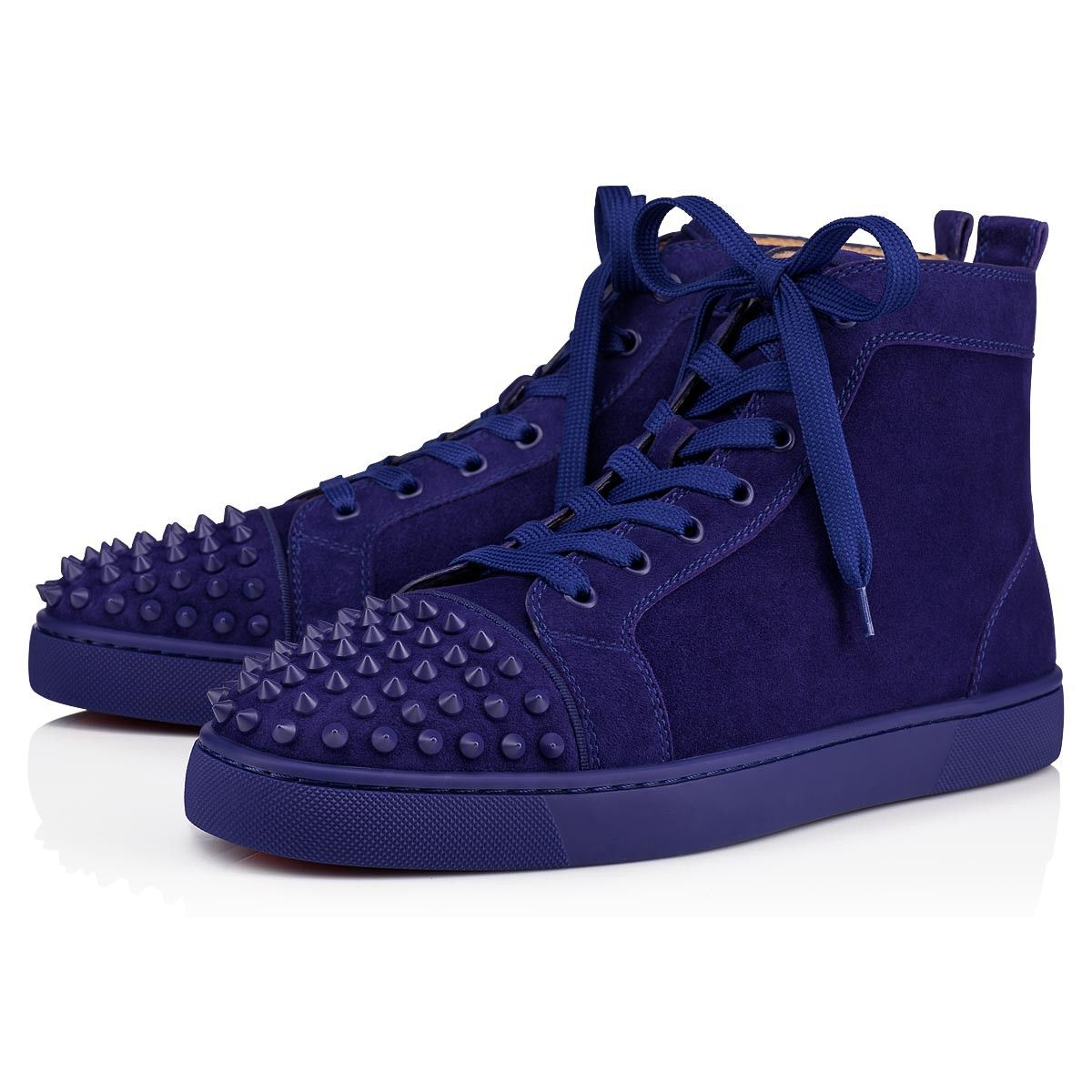 6ccd7657f7d CHRISTIAN LOUBOUTIN Lou Spikes Orlato Men s Flat.  christianlouboutin  shoes