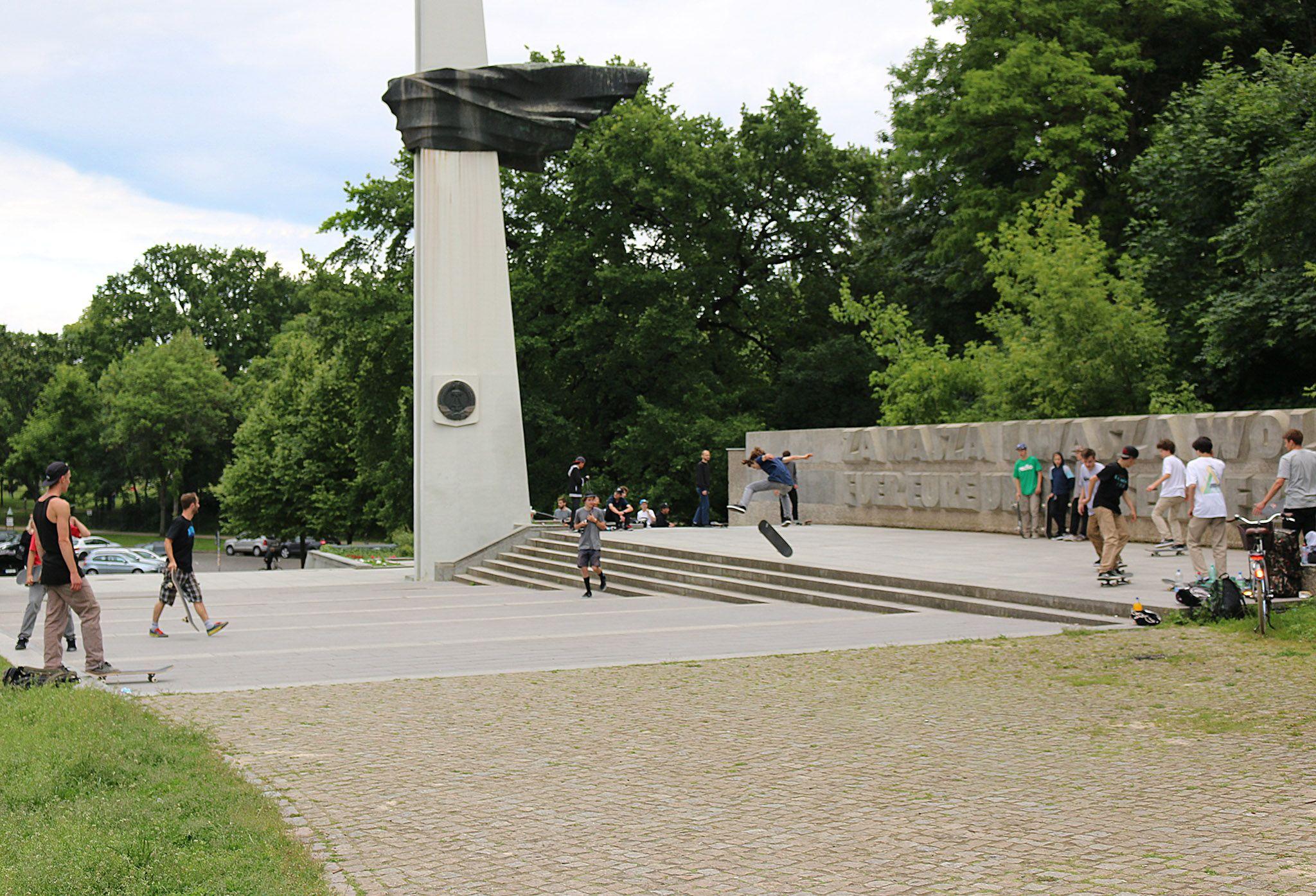 Volkspark Friedrichshain in Berlin