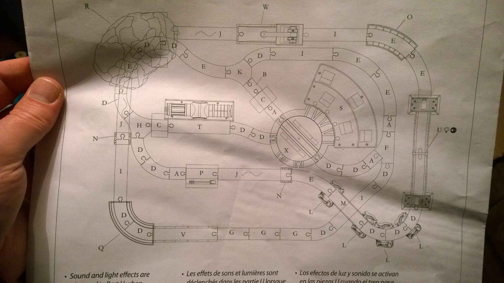 Imaginarium Train Table Instructions Mark 3 Train