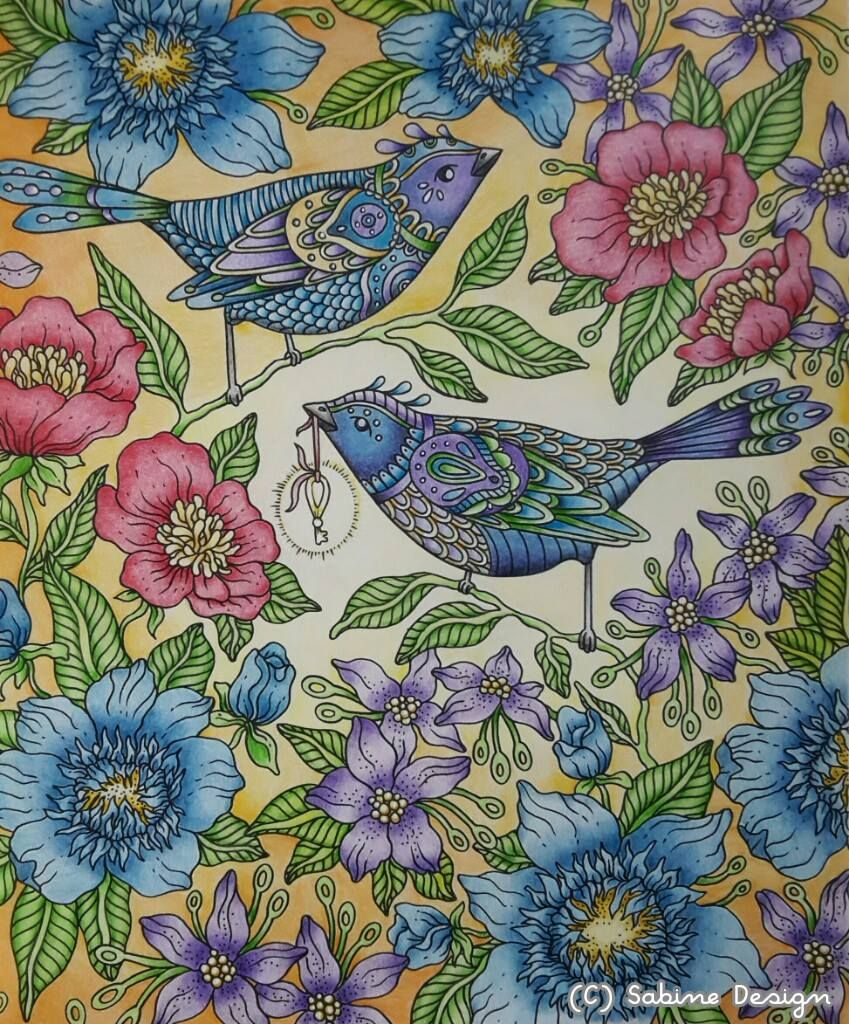 From Hanna Karlzon Coloring Book