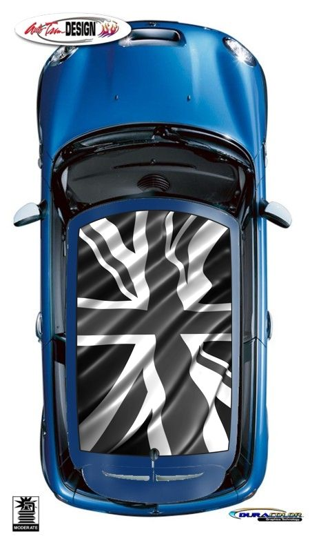 Roof Graphic Kits For Mini Cooper That Are Precut And Ready To